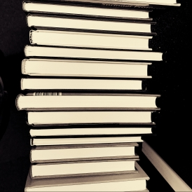 black-and-white-book-stack-books-207740
